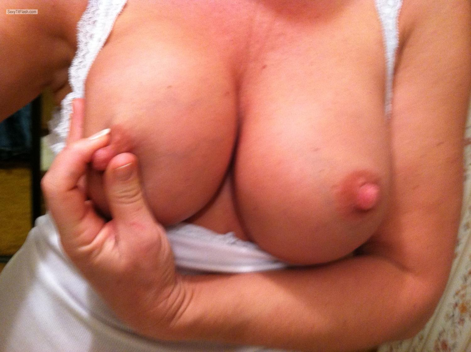 My Big Tits Selfie by Sandy Cheeks